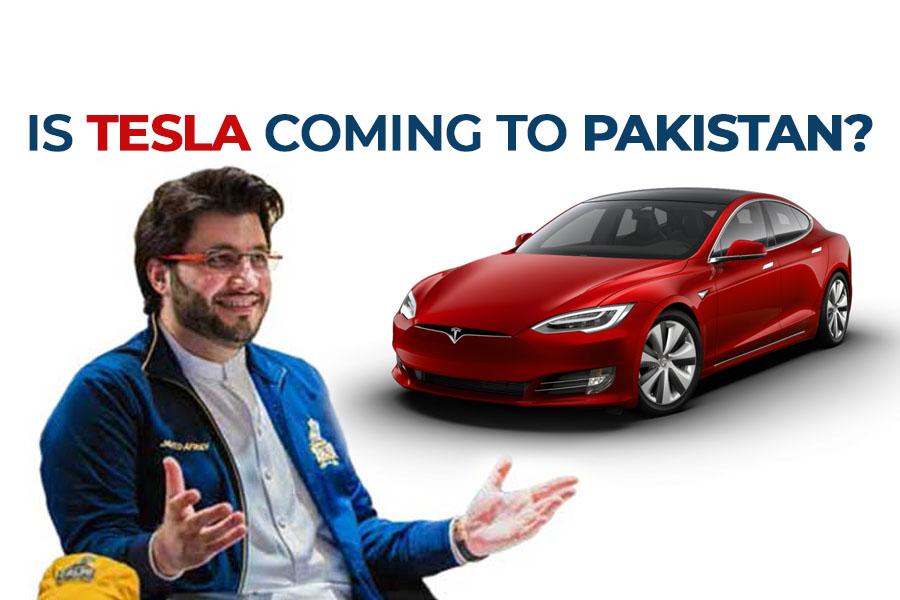 Is Javed Afridi Planning to Bring Tesla to Pakistan? 2